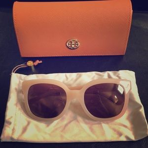 Tory Burch blush sunglasses